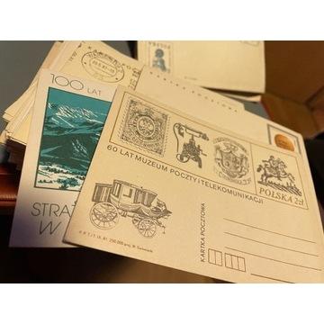 KOLEKCJA KART POCZTOWYCH Z LAT 70/80-tych