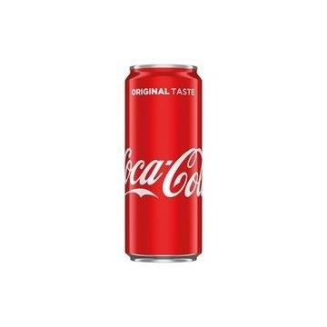 Coca Cola puszka 0,33l 1,67zl x 24szt (detal/hur)