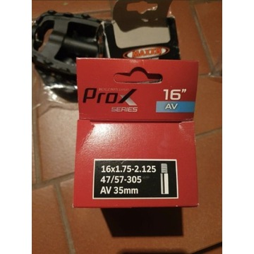 2sz Dętka 16 x 1,75-2,15 47/57-305 AV 35 mm PROX
