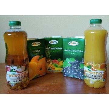 Sok owocowy 100% 1 litr