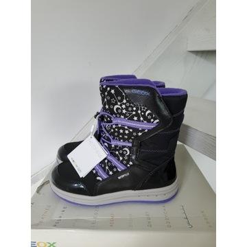 Nowe śniegowce buty zimowe dziewczęce ocieplane ge