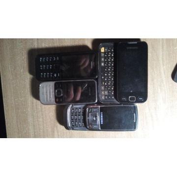 Zestaw telefonów sprawne