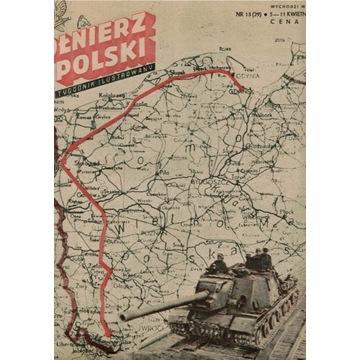 """Czasopismo """"Żołnierz Polski"""" Nr 13 z kwie. 1946 r."""