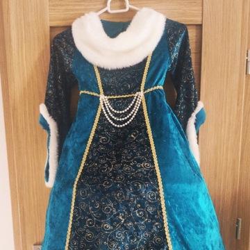sukienka kostium księżniczki