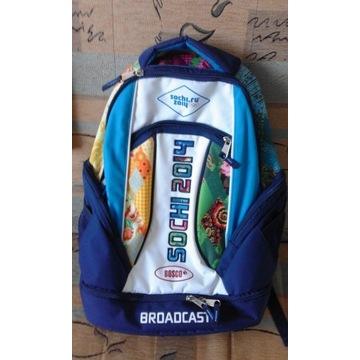 Oryginalny plecak igrzysk olimpijskich z Soczi
