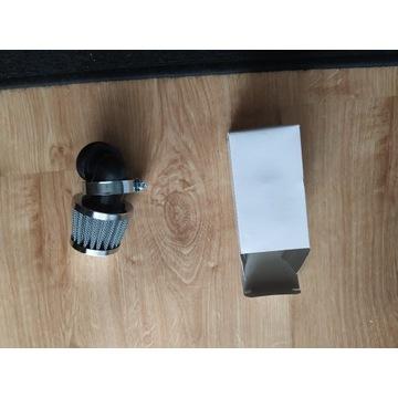 Filtr stożkowy powietrza kąt 90 stopni