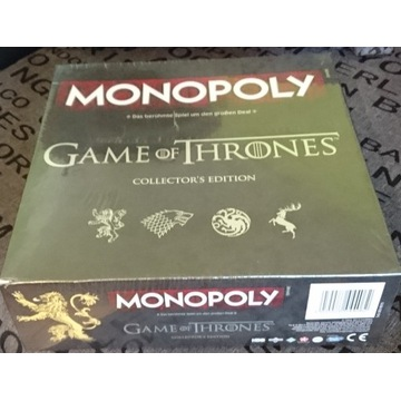 Monopoly - Game Of Thrones Edition - Niemiecka