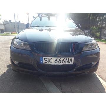 BMW E90 E91 kpl zderzak ALPINA oryginalny lak. 475