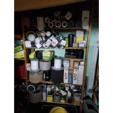 Filtr filtry busch caly zestaw okolo 100 szt