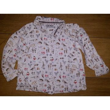 Next, świąteczna koszula, 3-4 latka, cudo