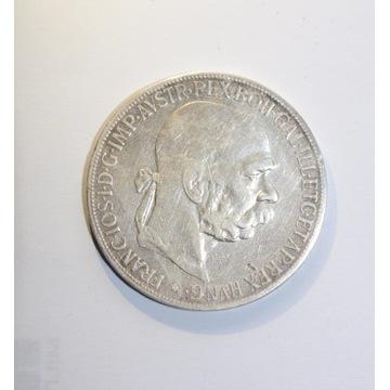 Moneta 5 Koron Franciszek Józef 1900