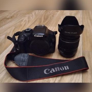 Canon 1100d plus obiektyw 18-55mm 3,5-5,6
