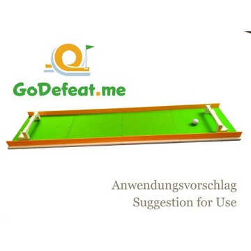 Minigolf Przeszkoda Druk 3D Football GoDefeat.me