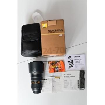 Obiektyw Nikon AF-S NIKKOR 24-70mm f/2.8G ED