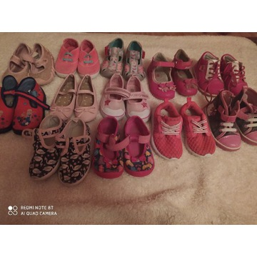 Duży zestaw butów r. 22-23 12par
