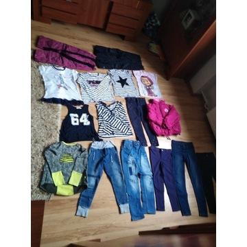 ubrania dla dziewczynek 6-8 lat
