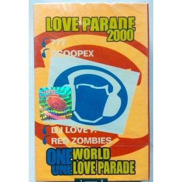 Love Parade 2000 NOWA Kaseta magnetofonowa