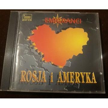 EMIGRANCI Rosja i Ameryka CD
