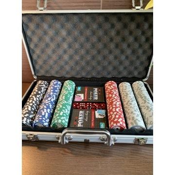 Zestaw pokerowy