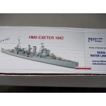 1/700 Krążownik ciężki HMS Exeter/ NIKO/ żywica
