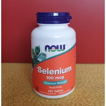 Now Foods Selenium, 100 mcg, 250 tab.