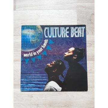 """CULTURE BEAT """"World in your hands"""" LP 12"""""""