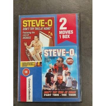 STEVE-O 2 Movie 1 box DVD jackass