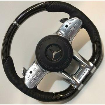 Kierownica carbon W213 W222 W217 C63 S63 AMG LIFT