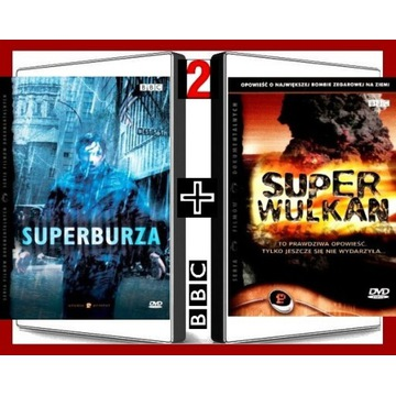 SUPERBURZA + SUPER WULKAN BBC [2xDVD] [keep case]