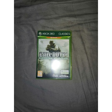 Call of Duty 4 Modern Warfare xbox360