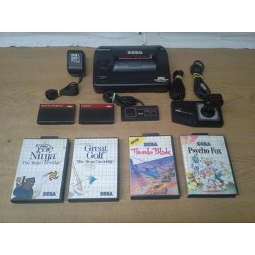 sega master system II + 6 gier