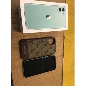 Iphone 11 64GB + etui Guess