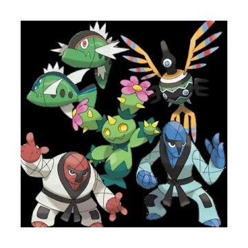 Pokemon Go: wszystkie regionalne 1-5 generacja