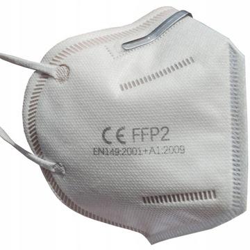 N95 Półmaska ochronna antywirusowa FFP2