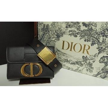 Torebka Dior  Montaigne 30 Box czarna skóra