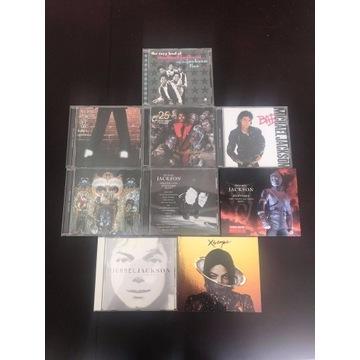 Kolekcja 9 płyt Michaela Jacksona i Jackson 5
