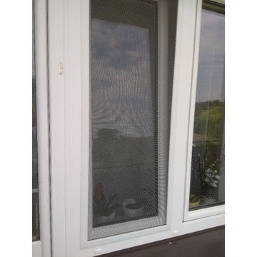 MOSKITIERA na okno, na wymiar- NOWOCZESNY PROFIL