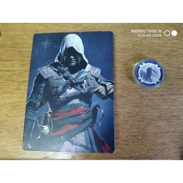 Assassin's Creed Black Flag Steelbox + żeton