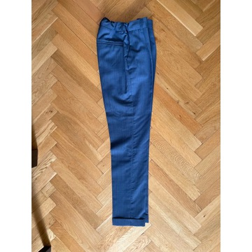 Spodnie Zara eleganckie na kant