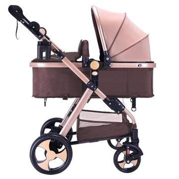 Wózek dziecięcy 2w1 , gondola + spacerówka