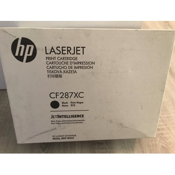 TONER HP CF287XC , HP LJ M506 M527 ORYGINAŁ