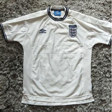 Koszulka piłkarska Anglia Umbro retro vintage 1999