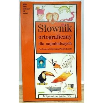 Słownik Ortograficzny dla Najmłodszych.