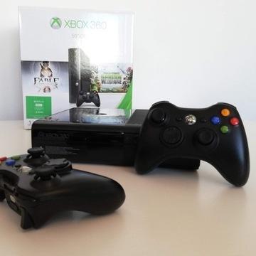 Xbox360, 500GB, 2pady,FIFA2018+GRY+darmowa dostawa