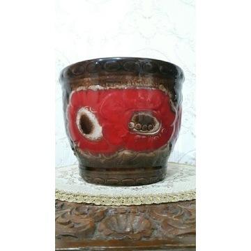 Osłonka doniczka ceramika