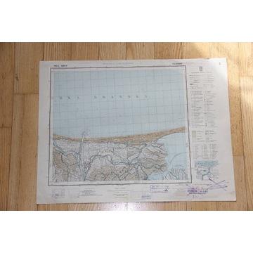 Tujsk 1:100 000 WIG 1937 P31 S28 Oryginał
