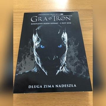 Gra o Tron Sezon 7 DVD Polska Wersja