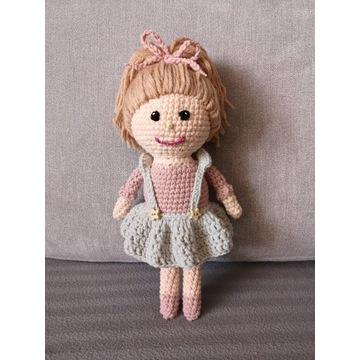 Lalka handmade szydełko