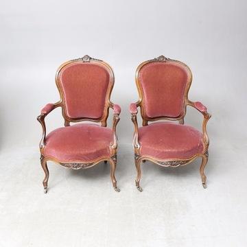 2 Fotele z XIX w.