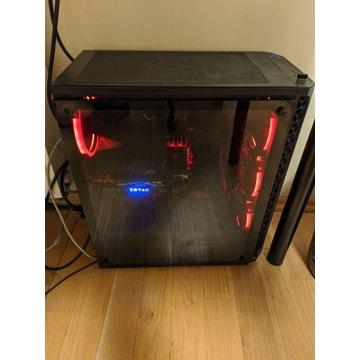 Komputer PC 2600X, GTX 1070 Ti, 16GB RAM, 750 SSD